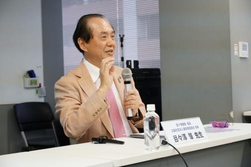 AI問診Ubieを導入している目々澤醫院の院長で東京都医師会理事の目々澤肇氏