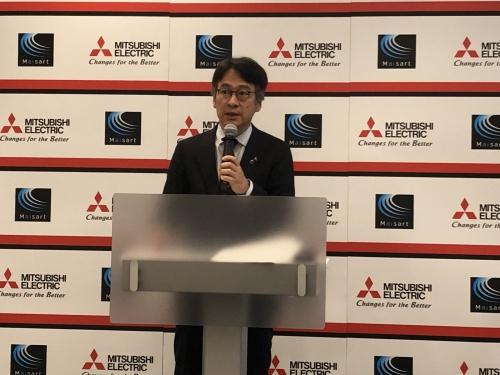 三菱電機情報技術総合研究所所長の楠和浩氏