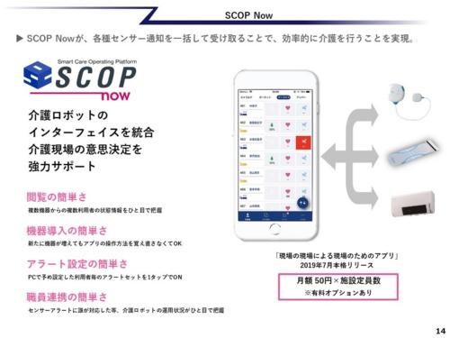 「SCOP now」のイメージ