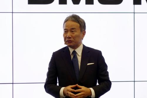 図1 DMG森精機代表取締役社長の森 雅彦氏