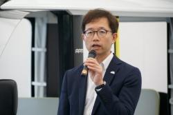 APMについて説明したトヨタZEVファクトリーZEV B&D Labグループ長の谷中壯弘氏