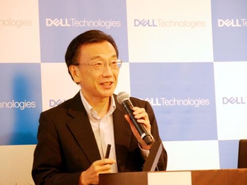 日本バーチャルリアリティ学会で理事を務める米デルテクノロジーズの黒田晴彦日本最高技術責任者