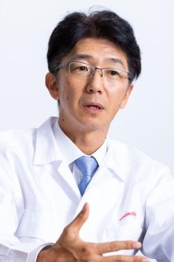 本田技術研究所常務執行役員の松尾歩氏。(写真:宮原一郎)