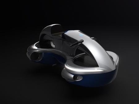 図1 A.L.I.Technologiesが開発した「空飛ぶバイク」の量産モデルイメージ