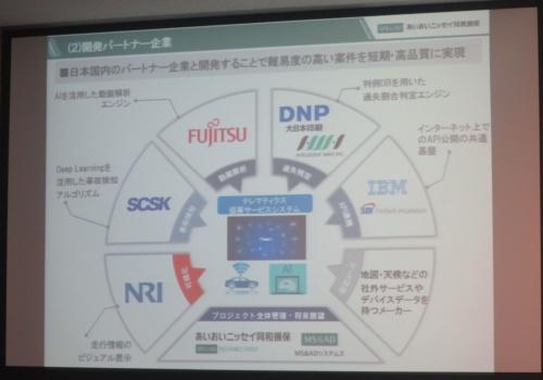 新サービスの開発における7社の役割
