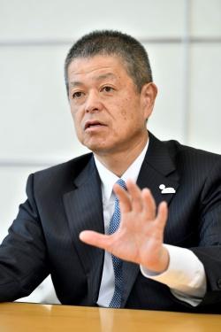 トヨタ自動車パワートレーンカンパニーPresidentの岸宏尚氏。(写真:森田直希)