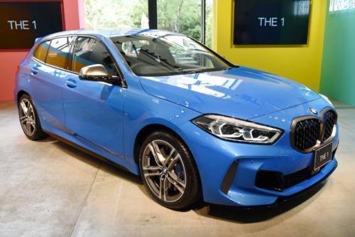 図1 BMWの新型「1シリーズ」