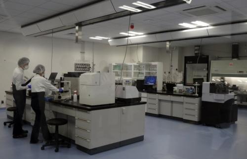 次世代ラボの実証施設(写真:日経xTECH)