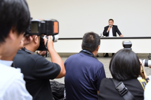 図1 日産自動車で社長兼CEOを務める西川広人氏