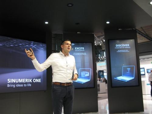 Siemensによるプレゼンテーション