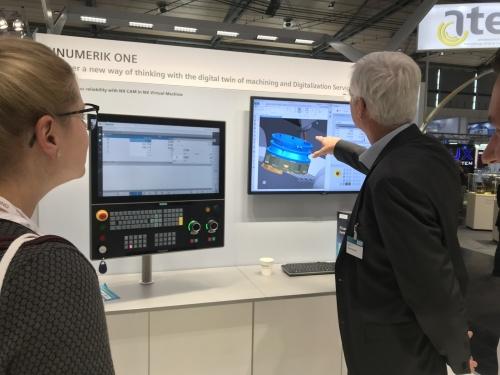 Siemensの新しいNC装置