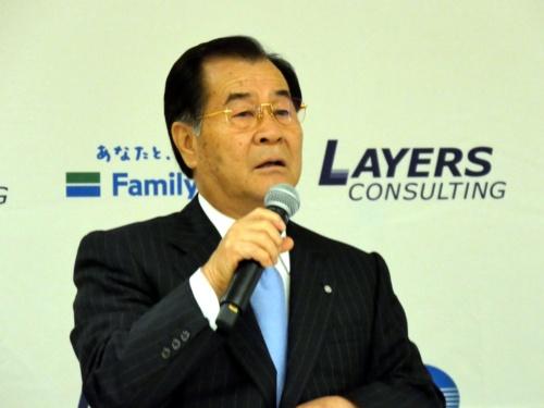 和気町の草加信義町長。ドローンを活用した地域課題解決に取り組む意向を示した