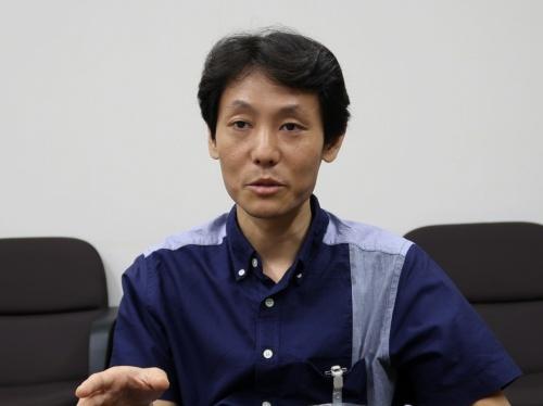 東芝 研究開発本部 研究開発センター フロンティアリサーチラボラトリーの後藤隼人主任研究員