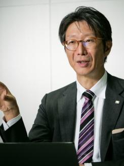 島田太郎氏(写真:加藤康)
