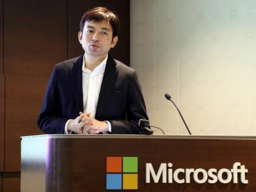 日本マイクロソフトの山崎善寛Microsoft 365ビジネス本部本部長