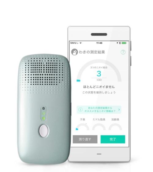 KunKun bodyの測定装置とアプリ