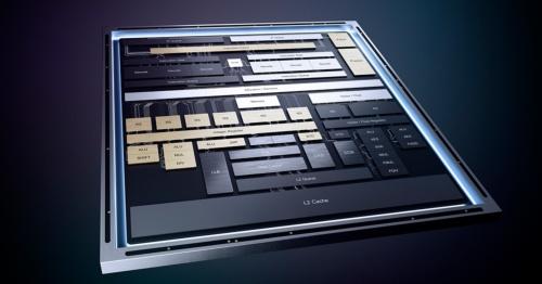 Tremontマイクロアーキテクチャーのプロセッサーの構成。Intelのイメージ