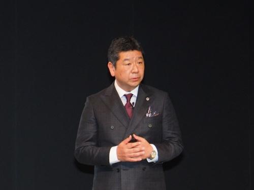 図2 ボルボ・カー・ジャパン社長の木村隆之氏