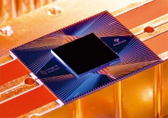 Googleが「量子超越性を実証した」と主張する量子プロセッサー「Sycamore」(写真:Googleのブログより)