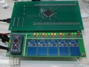 東芝情報システムと東芝が開発した「脊髄反射型アナログニューロンチップ」