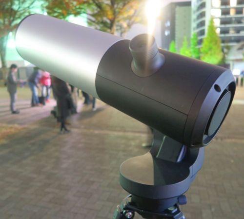 eVscopeの接眼部