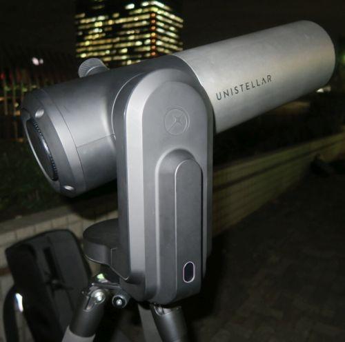 Unistellar製デジタル反射望遠鏡「eVscope」