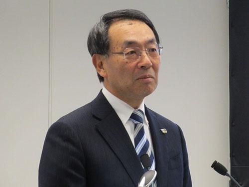 パナソニック 代表取締役社長の津賀 一宏氏