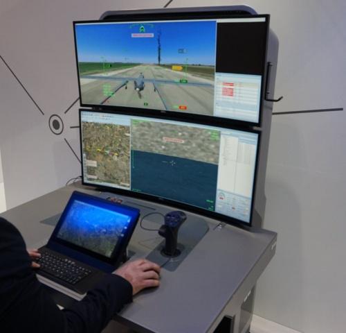 無人機による遠隔監視システム