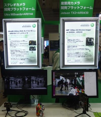 産業機器向けカメラの開発プラットフォーム。