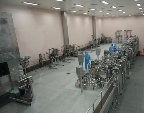 製品の製造エリア内部。(写真:日経 xTECH)