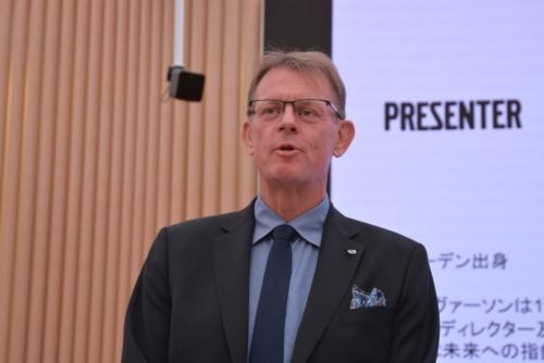図1 Volvoのセーフティー・センターでディレクターを務めるJan Ivarsson氏