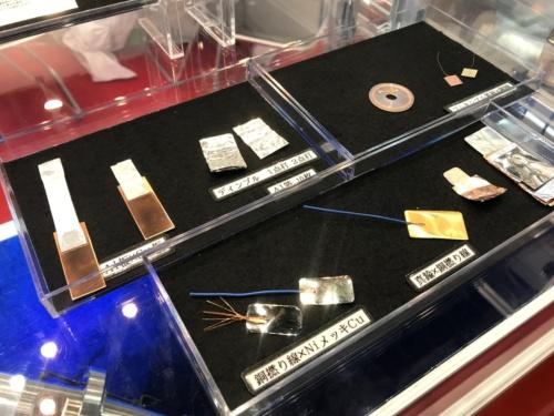 LINK-USの金属接合のサンプル