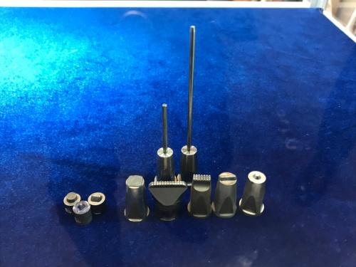 超音波複合振動接合に使う先端チップ
