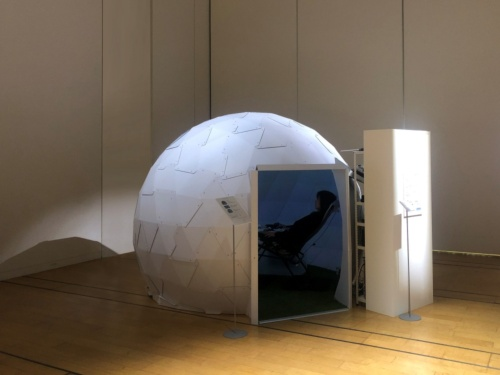 NTTドコモと乃村工藝社が共同で開発した次世代コミュニケーションに向けた設備「HUMANIC DOME」