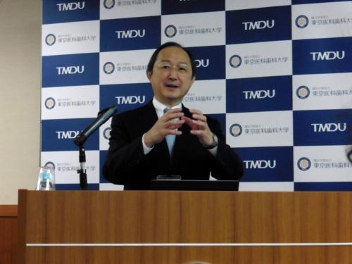 M&Dデータ科学センターのセンター長に就任する宮野悟氏