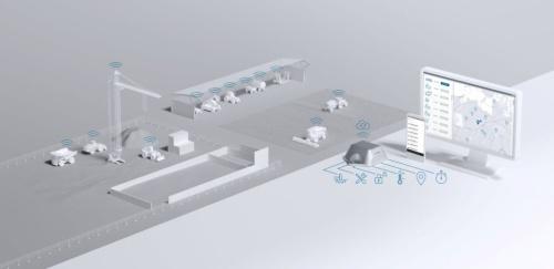 TRACIを使って建設機械の稼働状態を把握する概念図