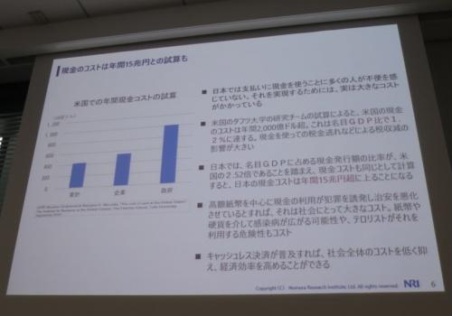 日本の現金関連コストは年間15兆円超に上る