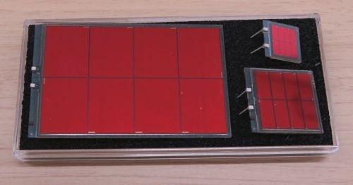 リコーが今回販売するDSSCモジュール。DSSC5284(左)、DSSC1719(右上)、DSSC2832(右下)