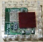 開発中の間欠通信型の環境センサー