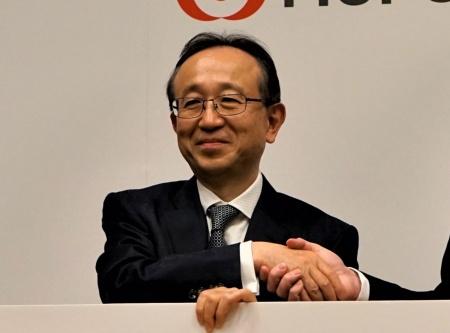2020年4月に三菱UFJフィナンシャル・グループ社長に就く亀沢宏規副社長(2019年4月19日撮影)