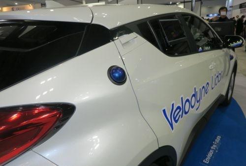 VelaDomeのコンセプトカーへの実装例 (動作品かどうかは不明)