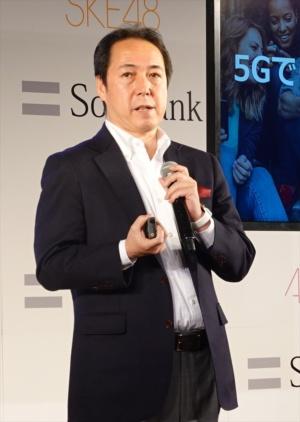 ソフトバンク常務執行役員の寺尾洋幸サービス企画本部本部長