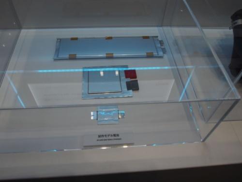 図 トヨタ自動車が試作した全固体電池セル