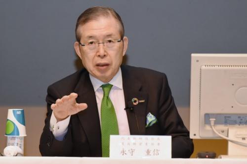 図1 日本電産の会長兼CEOである永守重信氏