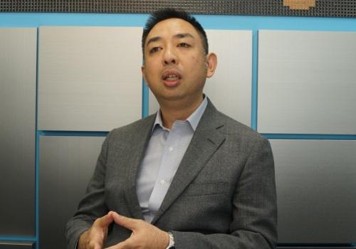 バンダイナムコエンターテインメントの森田繁経営推進室情報システム部ゼネラルマネージャー