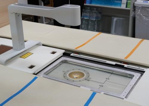 開発した光超音波装置