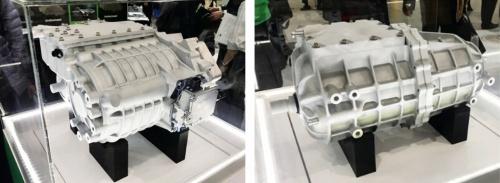 図2 日本電産が新たに開発した電動アクスル