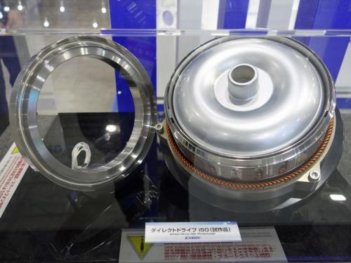 エクセディが試作した可変磁束モーター