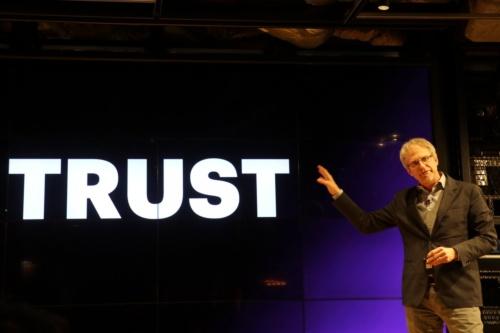 欧州アクセンチュアでCTO(最高技術責任者)兼CIO(最高イノベーション責任者)を務めるポール・ドーアティ氏