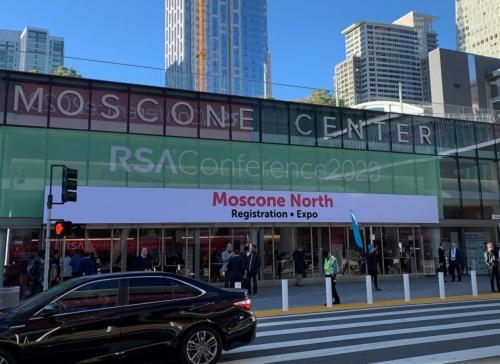 RSA Conference 2020を開催中の米サンフランシスコのモスコーニセンター